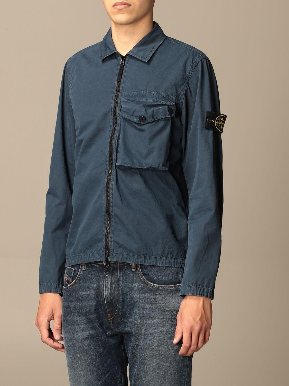 Jacket Stone Island: Stone Island nylon jacket with zip avion 3