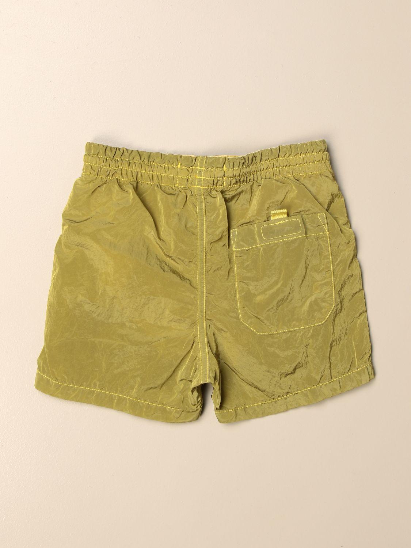 Shorts Stone Island Junior: Stone Island Junior jogging shorts with logo lemon 2