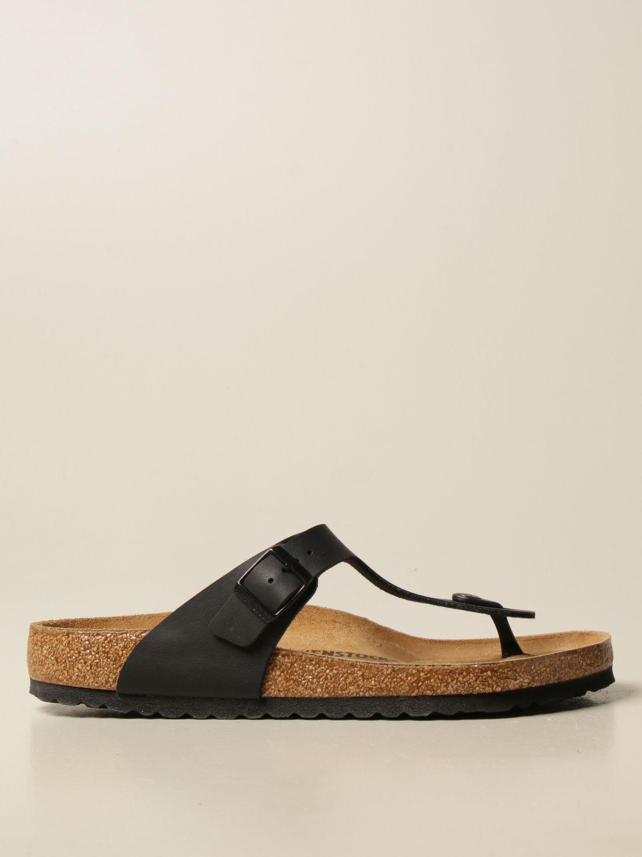 Sandals Birkenstock: Sandals men Birkenstock black 1