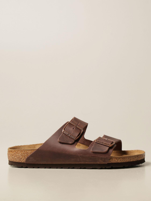 Sandals Birkenstock: Sandals men Birkenstock brown 1