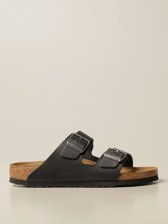 Sandali Birkenstock: Sandalo a ciabatta Arizona Birkenstock nero 1