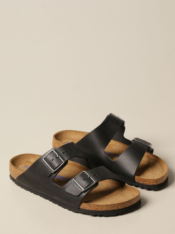 Sandali Birkenstock: Sandalo a ciabatta Arizona Birkenstock nero 2