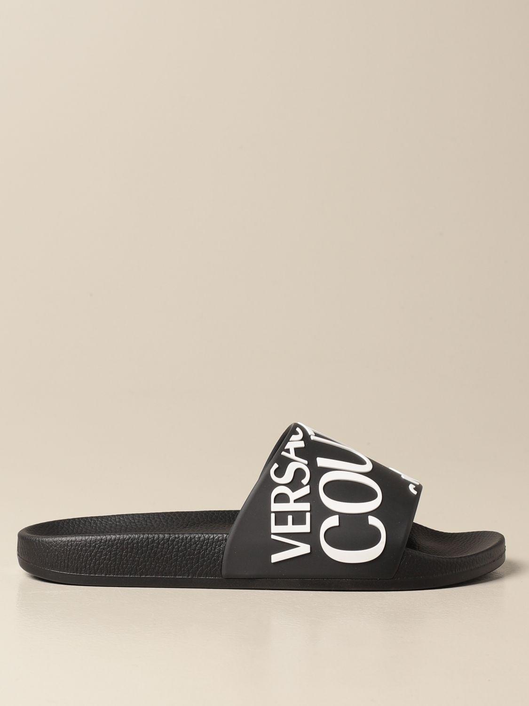 Sandals Versace Jeans Couture: Sandals men Versace Jeans Couture black 1