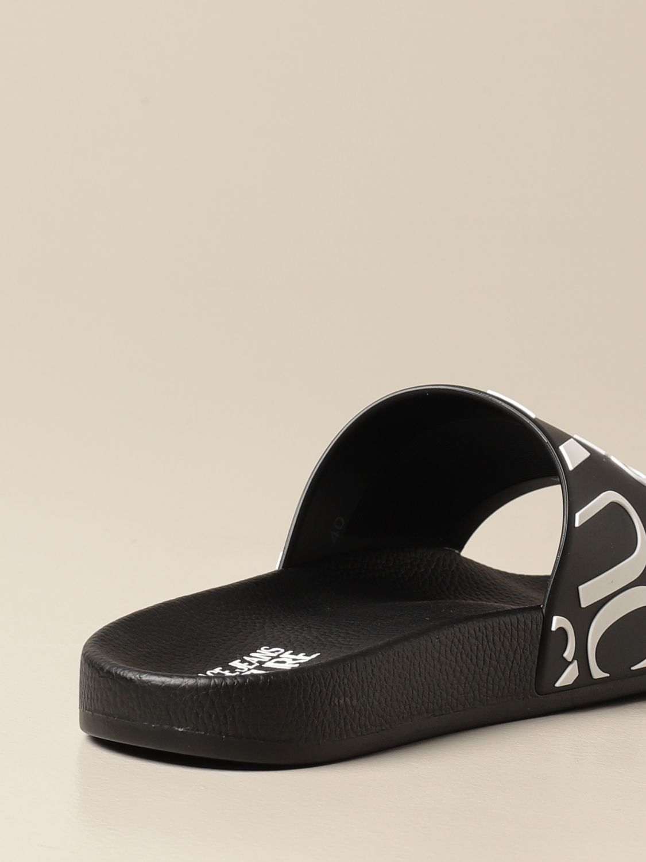 Sandals Versace Jeans Couture: Sandals men Versace Jeans Couture black 3