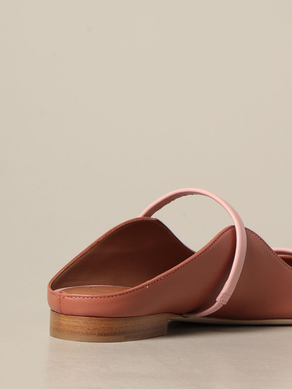 Босоножки без каблука Malone Souliers: Обувь Женское Malone Souliers лососевый 3