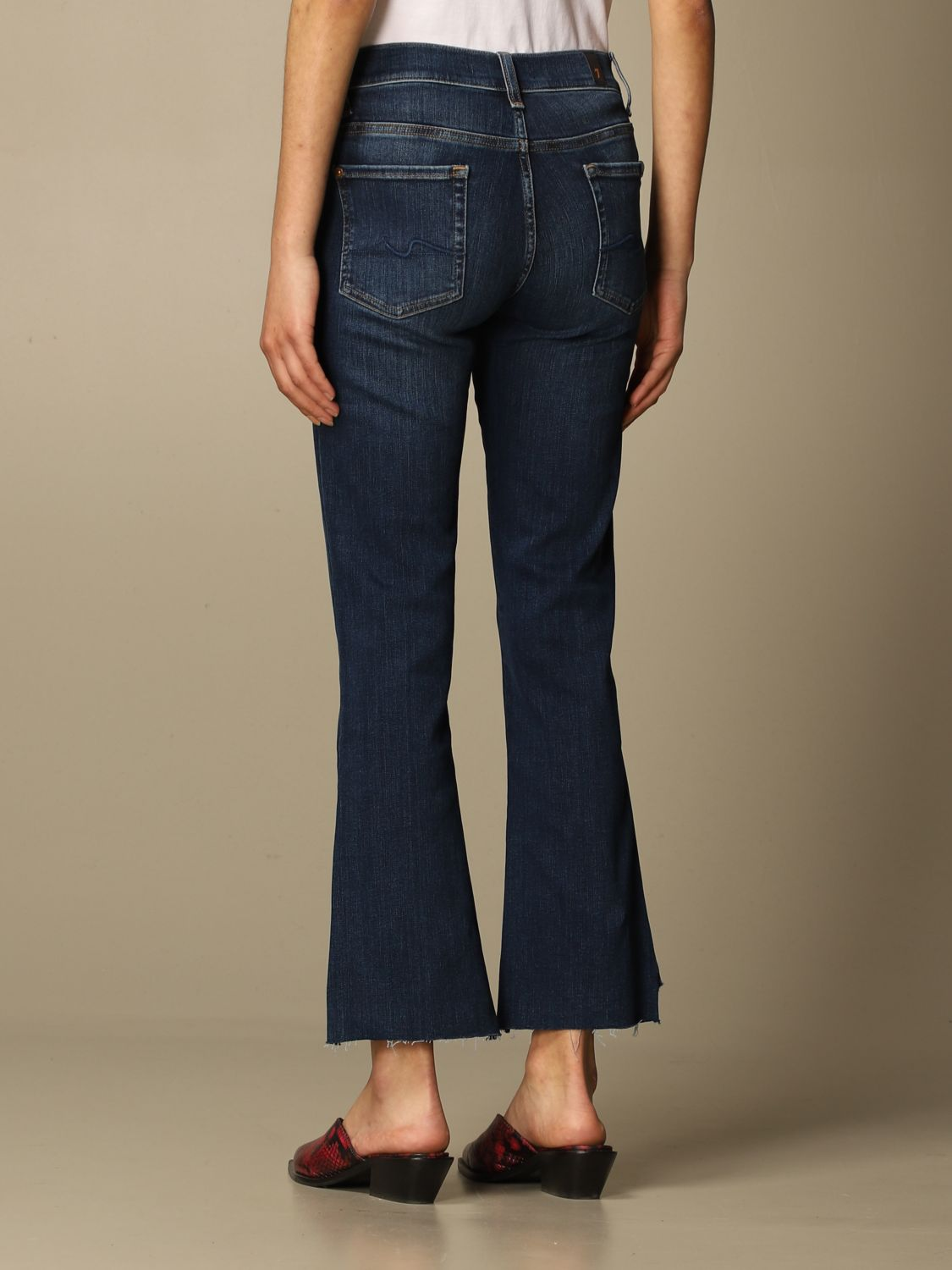 Jeans 7 For All Mankind: Jeans mujer 7 For All Mankind azul oscuro 2