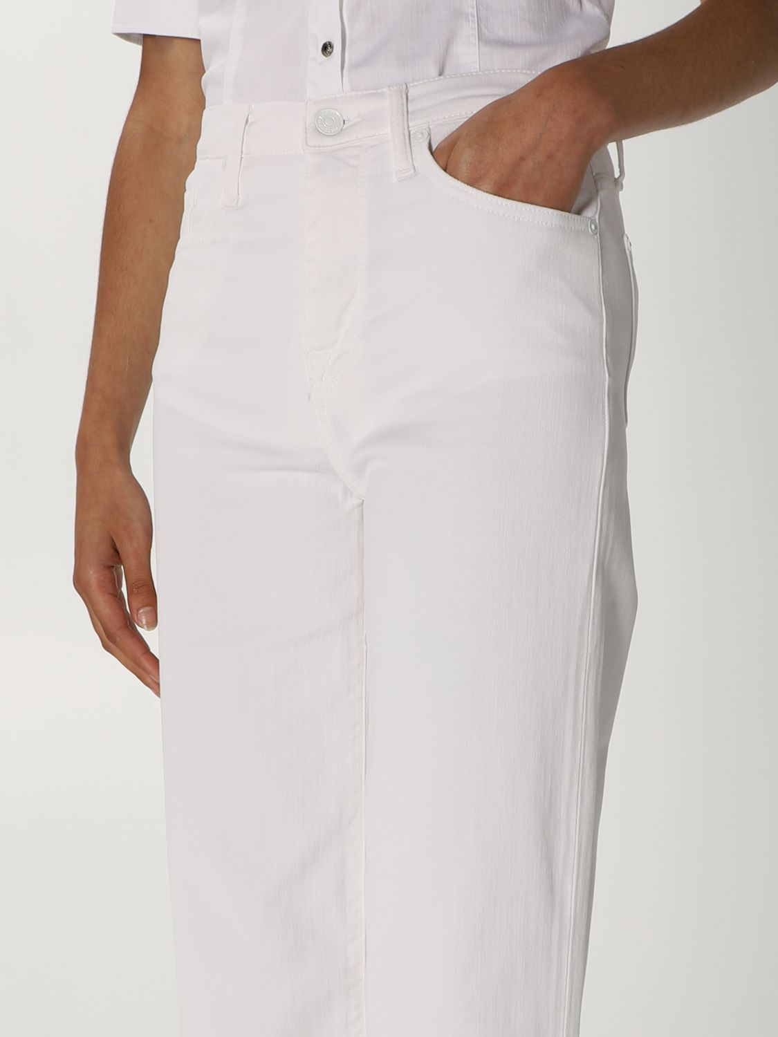 Jeans 7 For All Mankind: Jeans mujer 7 For All Mankind blanco 3