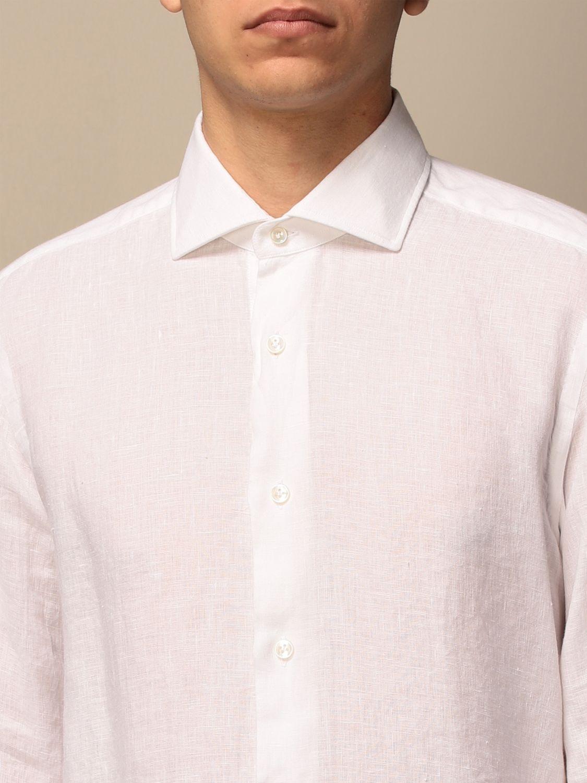 Chemise Barba Napoli: Chemise homme Barba Napoli blanc 1 3
