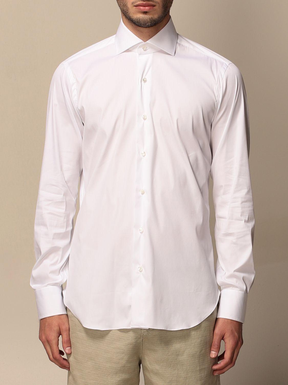 Shirt Barba Napoli: Shirt men Barba Napoli white 1
