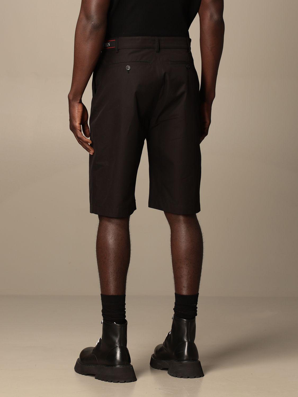 Pantaloncino Alexander Mcqueen: Pantaloncino Alexander McQueen in cotone nero 3