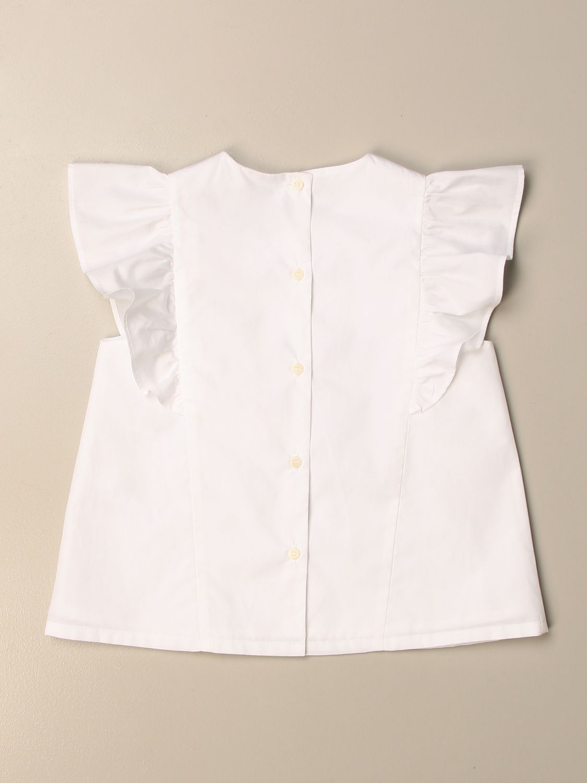 Top Il Gufo: Camisa niños Il Gufo blanco 1 2