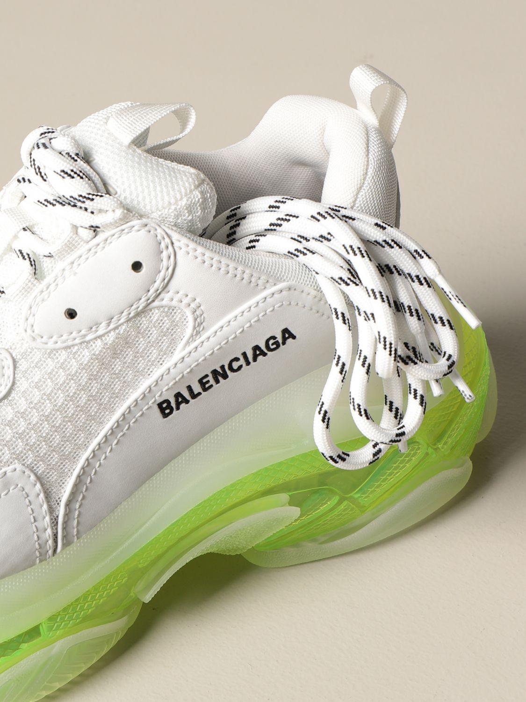 Trainers Balenciaga: Triple s Balenciaga clear sole trainers white 4