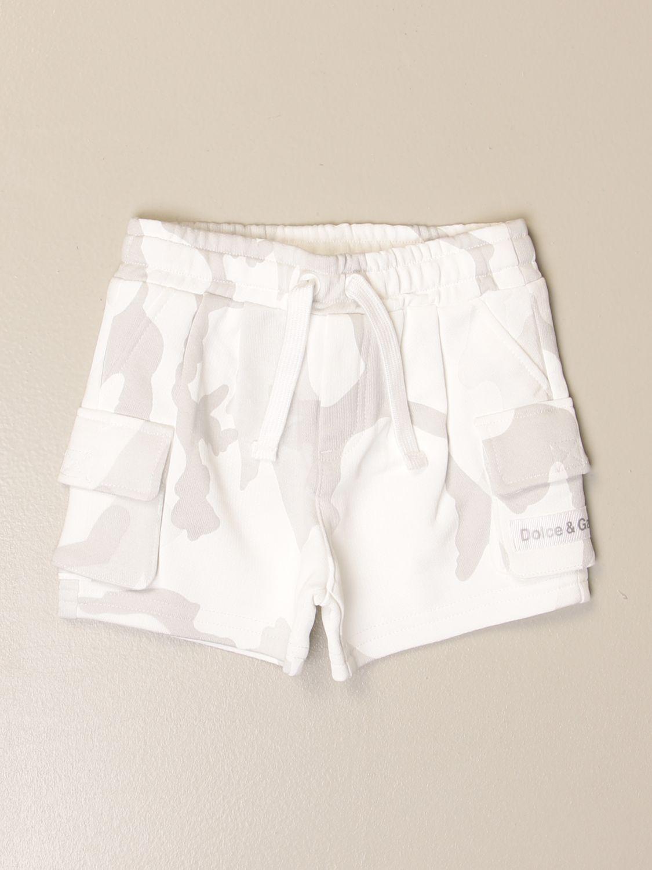 Pantaloncini Dolce & Gabbana: Pantaloncino jogging Dolce & Gabbana stampato militare 1