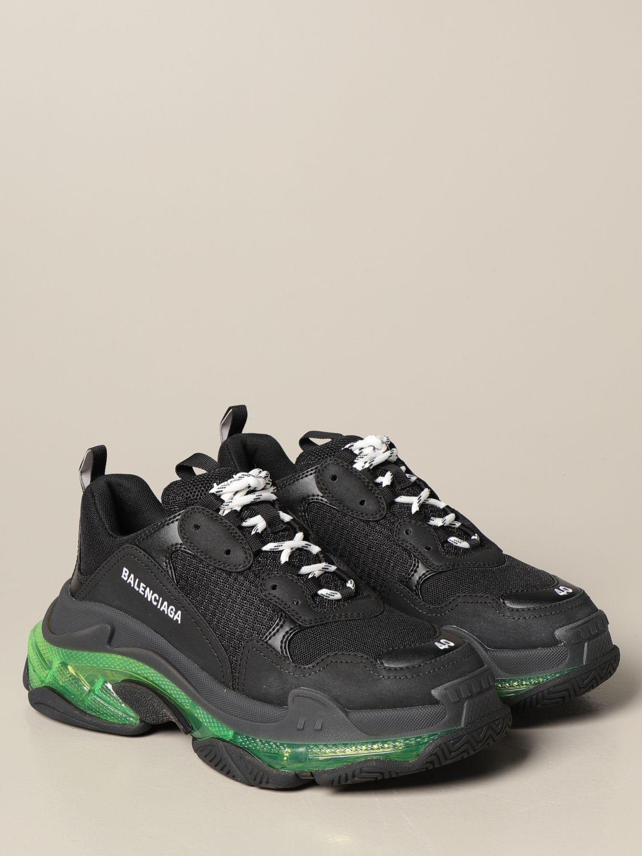 Sneakers Balenciaga: Sneakers Triple s Balenciaga clear sole giallo 2
