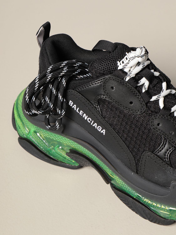 Sneakers Balenciaga: Sneakers Triple s Balenciaga clear sole giallo 4