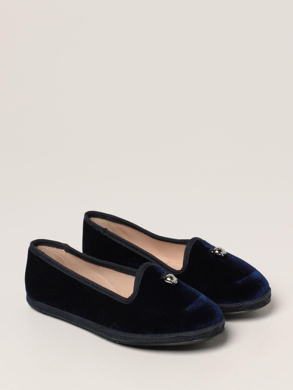 鞋履 Simonetta: 鞋履 儿童 Simonetta 蓝色 2