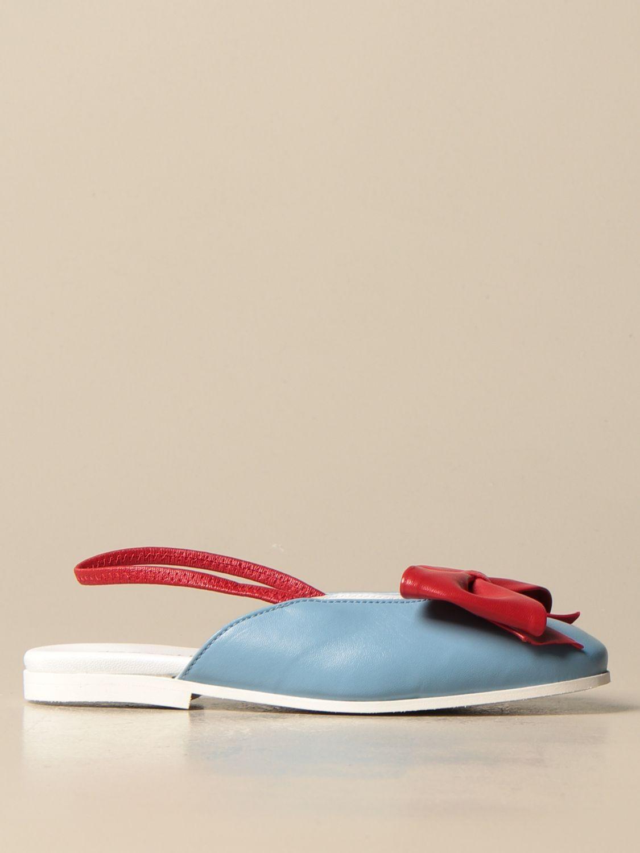鞋履 Simonetta: 鞋履 儿童 Simonetta 浅蓝色 1