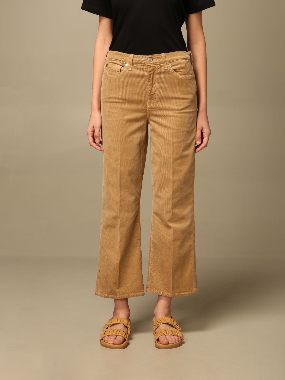 Jeans 7 For All Mankind: Jeans mujer 7 For All Mankind beige 1
