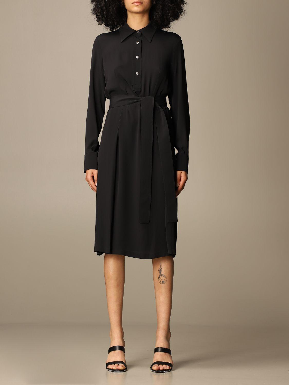 Kleid Mauro Grifoni: Kleid damen Mauro Grifoni schwarz 1