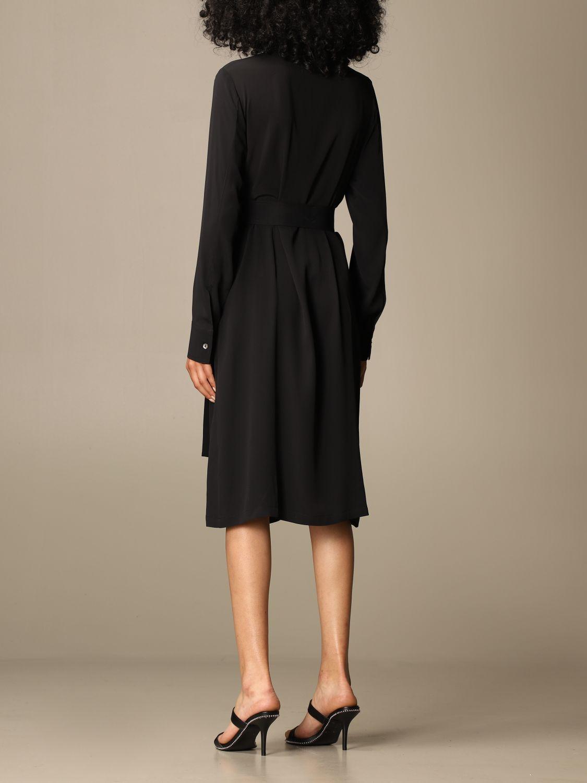 Kleid Mauro Grifoni: Kleid damen Mauro Grifoni schwarz 2