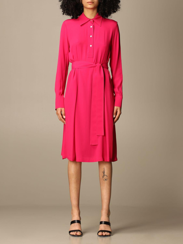 Kleid Mauro Grifoni: Kleid damen Mauro Grifoni fuchsia 1