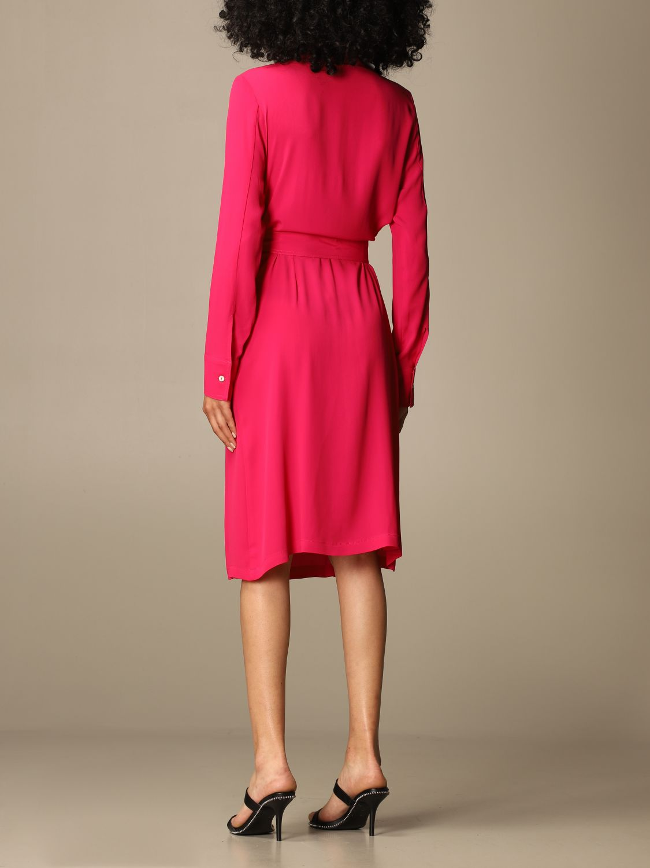 Kleid Mauro Grifoni: Kleid damen Mauro Grifoni fuchsia 2