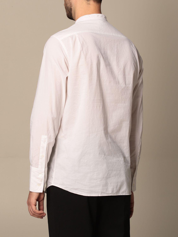 Camisa Paolo Pecora: Camisa hombre Paolo Pecora blanco 3