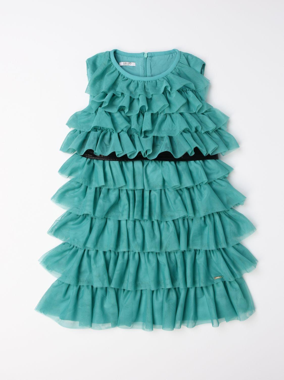 Dress Liu Jo: Dress kids Liu Jo green 1