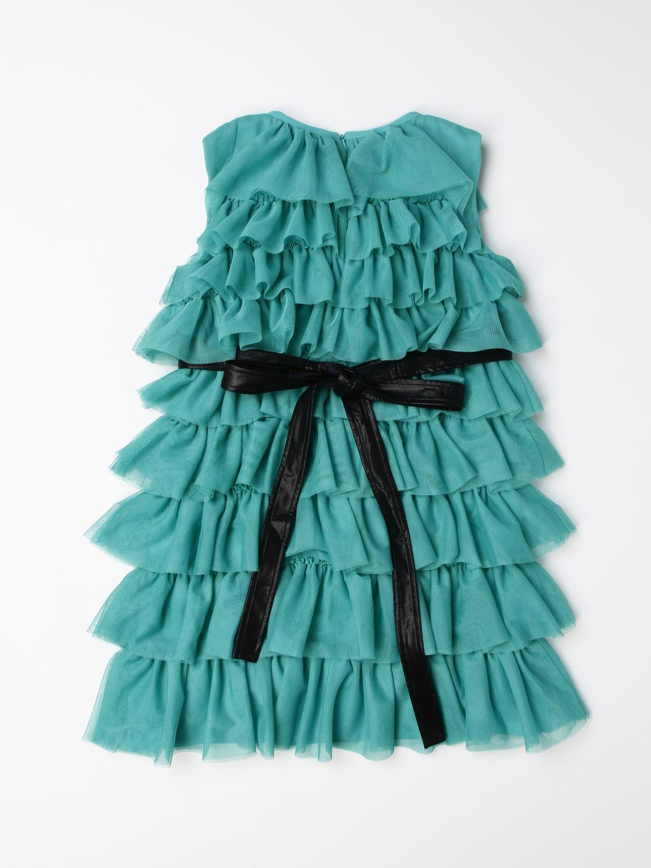 Dress Liu Jo: Dress kids Liu Jo green 2