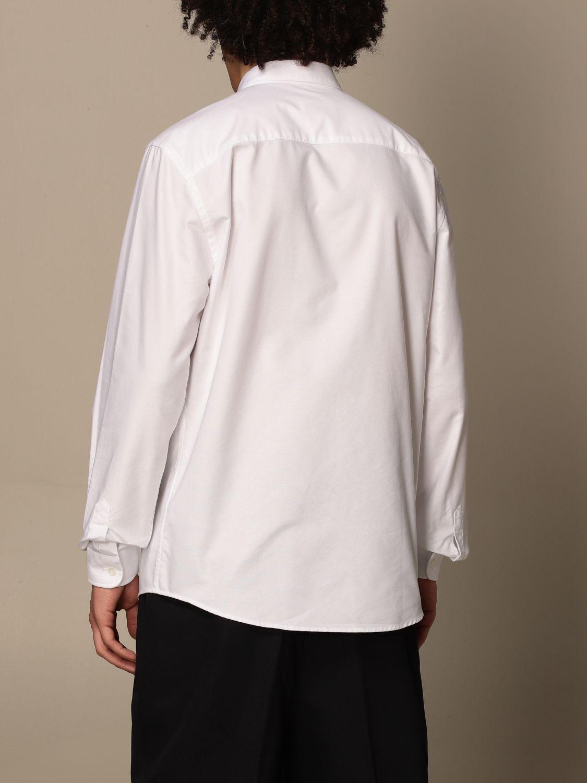 Shirt Ami Alexandre Mattiussi: Ami Alexandre Mattiussi shirt with logo white 3