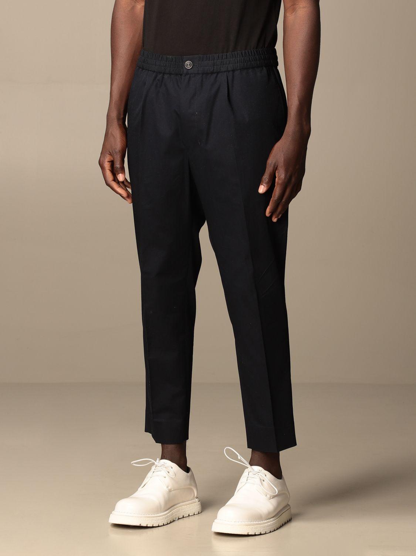 Pantalone Ami Alexandre Mattiussi: Pantalone Ami Alexandre Mattiussi in cotone blue navy 3