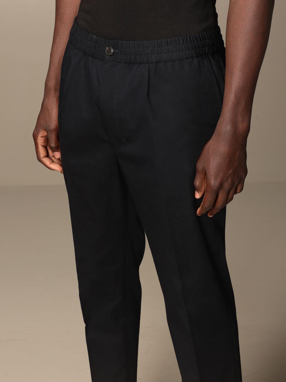 Pantalone Ami Alexandre Mattiussi: Pantalone Ami Alexandre Mattiussi in cotone blue navy 4