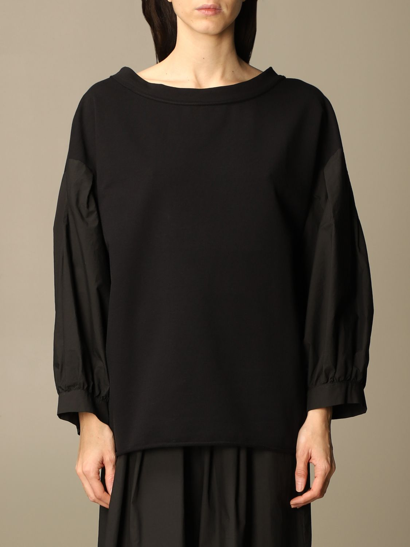 Sweatshirt Manila Grace: Sweatshirt women Manila Grace black 1