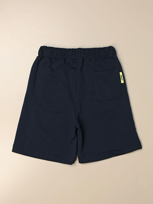Shorts Msgm Kids: Msgm Kids jogging shorts with logo blue 2