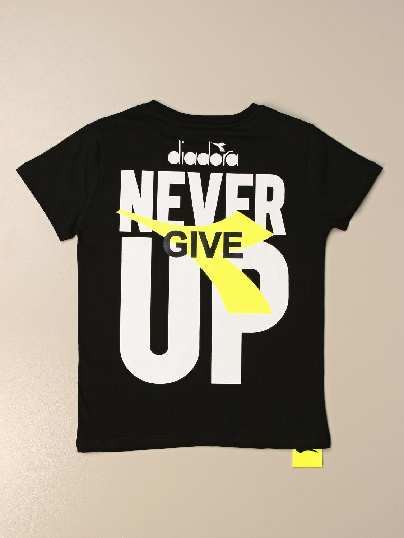 Camiseta Diadora: Camiseta niños Diadora negro 2