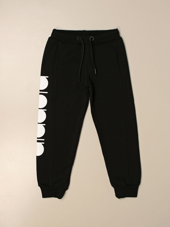 Pantalón Diadora: Jersey niños Diadora negro 1