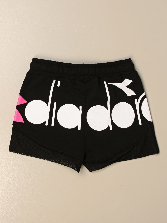 Pantalones cortos Diadora: Pantalones cortos niños Diadora negro 2
