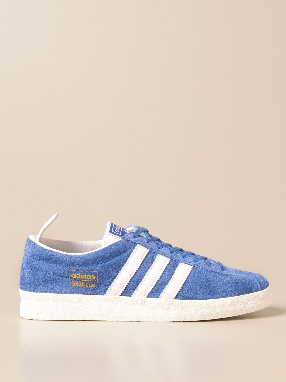 Trainers Adidas Originals: Gazelle Vintage Adidas Original sneakers in suede blue 1