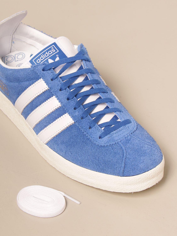 Trainers Adidas Originals: Gazelle Vintage Adidas Original sneakers in suede blue 4