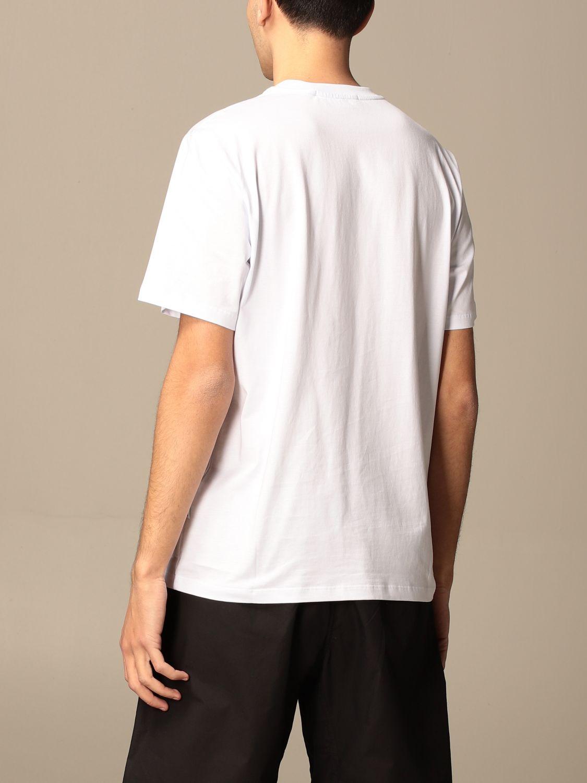 T-shirt Msgm: T-shirt men Msgm white 3