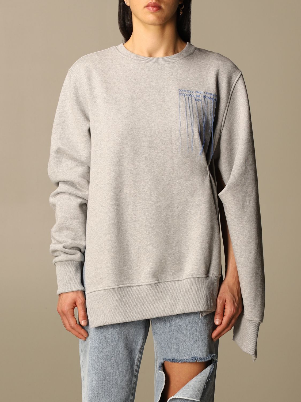 Sweatshirt Rokh: Sweatshirt damen Rokh grau 1