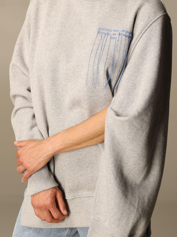 Sweatshirt Rokh: Sweatshirt damen Rokh grau 4