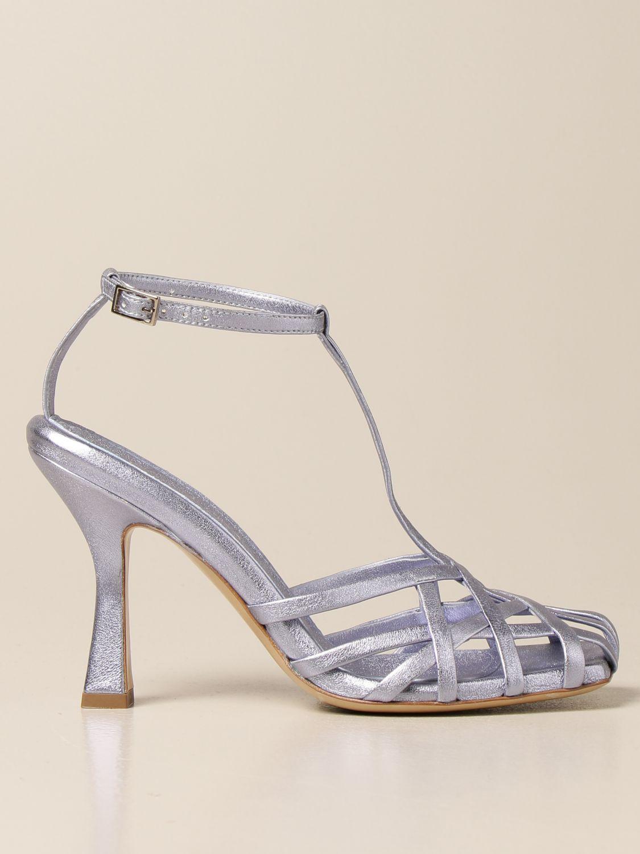 Sandalen mit Absatz Aldo Castagna: Schuhe damen Aldo Castagna blau 1