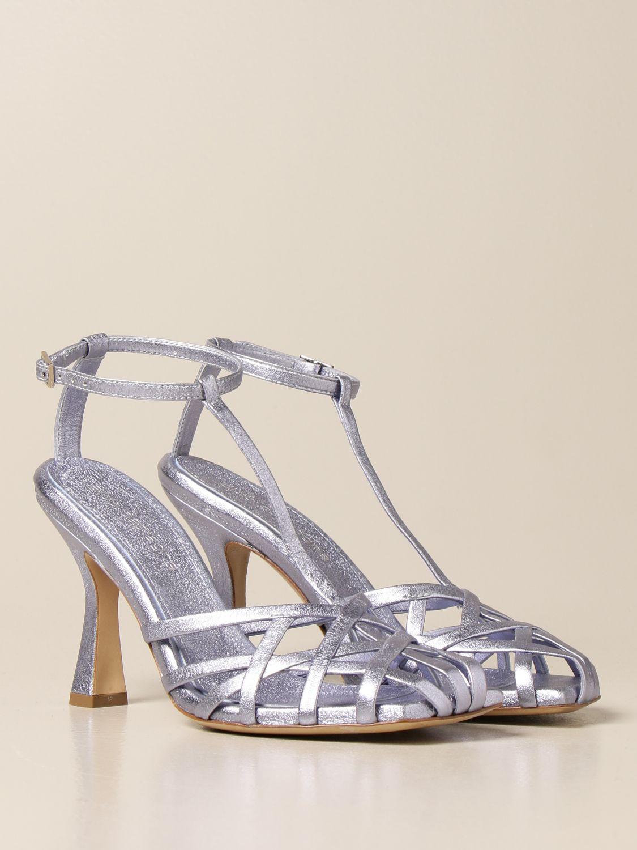 Sandalen mit Absatz Aldo Castagna: Schuhe damen Aldo Castagna blau 2