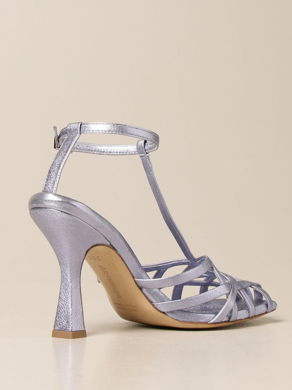 Sandalen mit Absatz Aldo Castagna: Schuhe damen Aldo Castagna blau 3