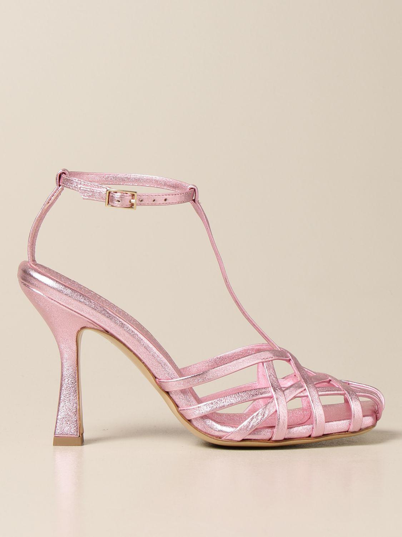 Heeled sandals Aldo Castagna: Shoes women Aldo Castagna pink 1