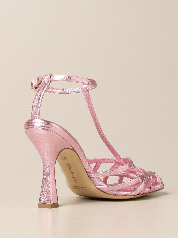 Heeled sandals Aldo Castagna: Shoes women Aldo Castagna pink 3