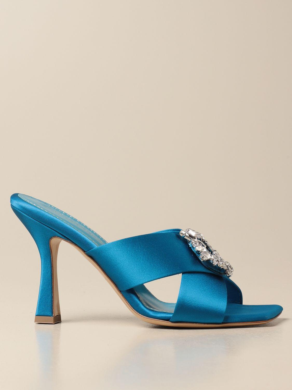 Heeled sandals Aldo Castagna: Shoes women Aldo Castagna blue 1