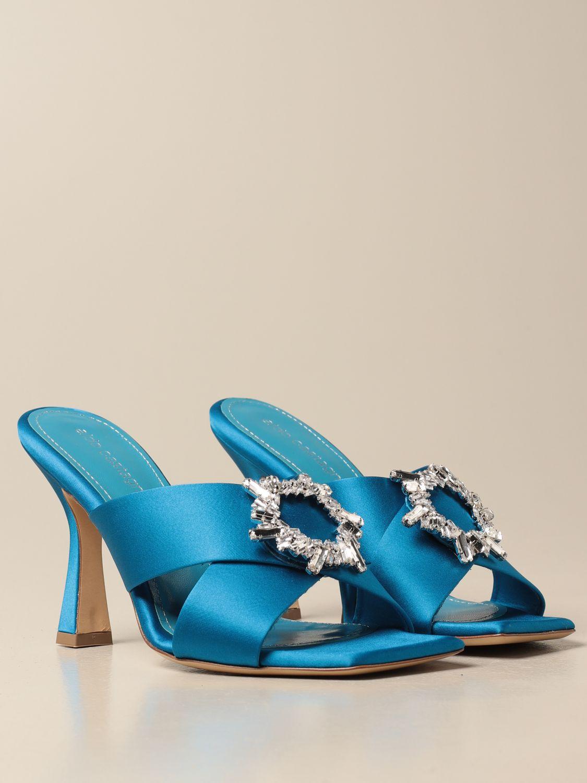 Heeled sandals Aldo Castagna: Shoes women Aldo Castagna blue 2