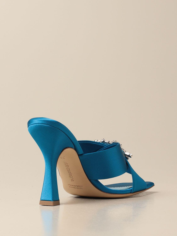 Heeled sandals Aldo Castagna: Shoes women Aldo Castagna blue 3